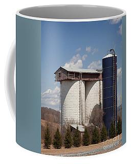 Silo House With A View - Color Coffee Mug