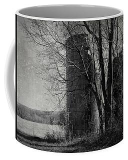 Silos - Black And White Coffee Mug by Joseph Skompski