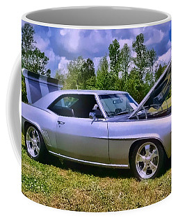 Coffee Mug featuring the photograph Silver 69 by Victor Montgomery