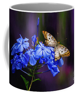 Silver And Gold Coffee Mug by Lois Bryan