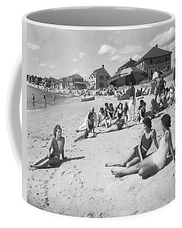 Silver Beach On Cape Cod Coffee Mug
