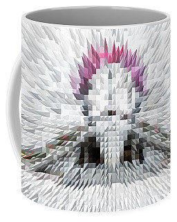 Silver Cotton Candy Coffee Mug