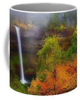 Silver Falls Pano Coffee Mug