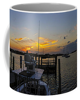 Silver Lake Sunset Panorama Coffee Mug