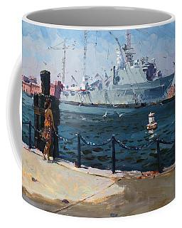 Silver Morning Coffee Mug