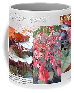 Coffee Mug featuring the photograph Silver Scrolls - Coral Bells by Brooks Garten Hauschild