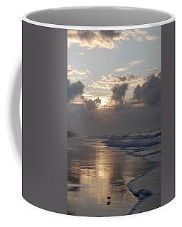 Silver Sunrise Coffee Mug by Mim White