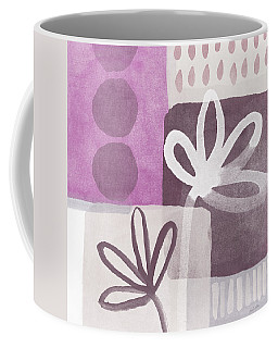Simple Flowers- Contemporary Painting Coffee Mug