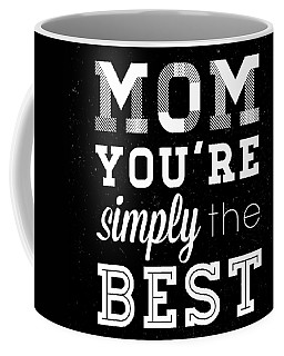 Simply The Best Mom Square Coffee Mug