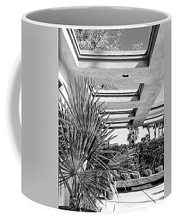 Sinatra Patio Bw Palm Springs Coffee Mug