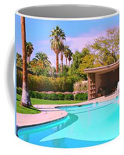 Sinatra Pool Cabana Palm Springs Coffee Mug
