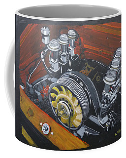 Singer Porsche Engine Coffee Mug