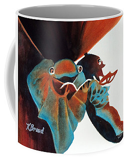 Singing Frog Duet 2 Coffee Mug