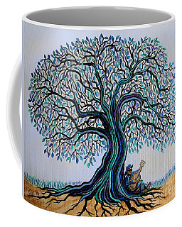 Singing Under The Blues Tree Coffee Mug by Nick Gustafson