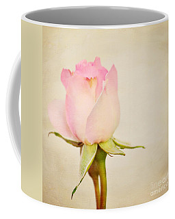 Single Baby Pink Rose Coffee Mug
