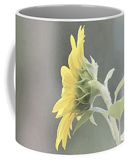 Single Sunflower Coffee Mug