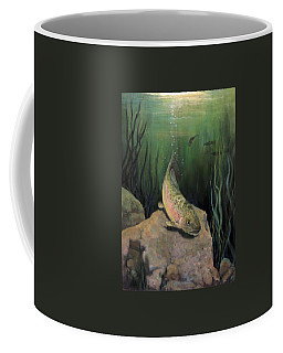 Single Trout Coffee Mug