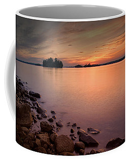 Sioux Narrows Sunset Coffee Mug