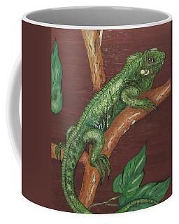 Sir Iguana Coffee Mug