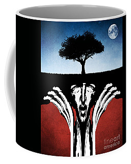 Coffee Mug featuring the digital art Sir Real by Phil Perkins
