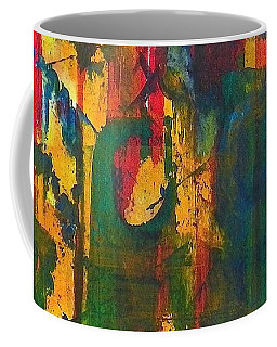 Coffee Mug featuring the painting Sisters by Anna Ruzsan