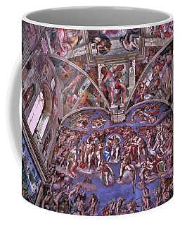 Coffee Mug featuring the photograph Sistine Chapel by Allen Beatty
