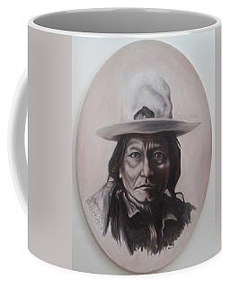 Sitting Bull Coffee Mug by Michael  TMAD Finney