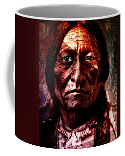 Sitting Bull - Warrior - Medicine Man Coffee Mug by Hartmut Jager