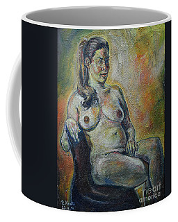 Sitting Nude Coffee Mug