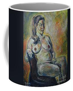 Sitting Nude Coffee Mug