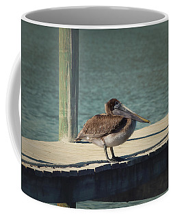 Coffee Mug featuring the photograph Sitting On The Dock Of The Bay by Kim Hojnacki