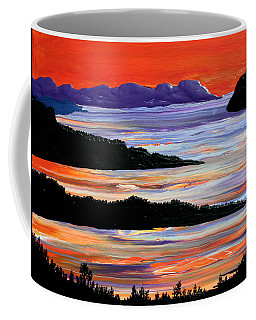 Sitting Seaside Coffee Mug