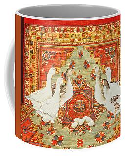 Six Geese A-laying Coffee Mug