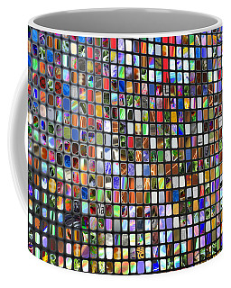 Six Hundred Rectangles Coffee Mug by Don Gradner
