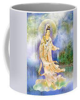Six Times  Kuan Yin Coffee Mug by Lanjee Chee