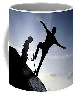 Skateboarders Coffee Mug