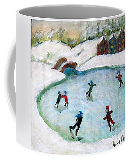 Skating Pond Coffee Mug
