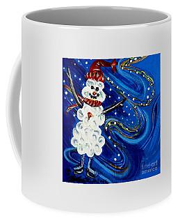 Skating Thru The Night Coffee Mug