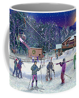 Ski Area Campton Mountain Coffee Mug