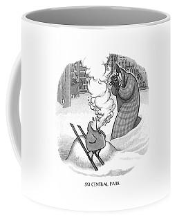 Ski Central Park Coffee Mug