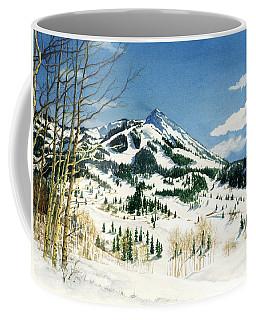 Skiers Paradise Coffee Mug by Barbara Jewell