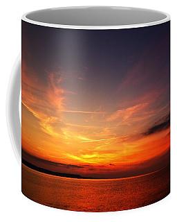 Skies On Fire Coffee Mug by Stephen Melia