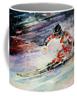 Skiing 01 Coffee Mug