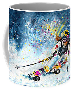 Skiing 03 Coffee Mug