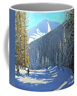 Skiing  Beauregard La Clusaz Coffee Mug