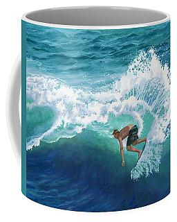 Skimboard Surfer Coffee Mug