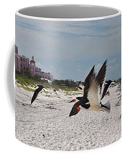 Black Skimmers At Don Cesar Coffee Mug