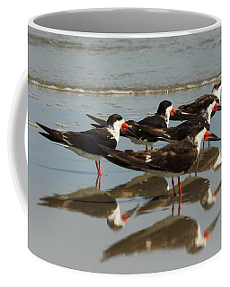 Skimmers With Reflection Coffee Mug