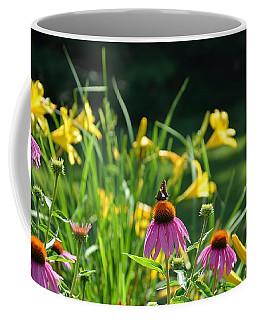 Skipper In The Flowers Coffee Mug