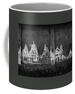 Skc 0003 Temple Complex Coffee Mug by Sunil Kapadia